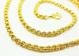 Amazon.com: Chain 22k 23k 24k Thai Baht Yellow Gold Gp