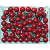 1/4 Inch Map Tacks - Red