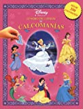 Tesoro de libros de calcomanias princesas: Disney Princesses Sticker Book Treasury, Spanish-Language Edition (Disney calcomanias) (Spanish Edition)