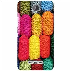Lenovo A2010 Back Cover - Fabric Designer Cases