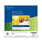 Fairfield Soft Touch Box Edge Pillow, 18 by 18 by 3-Inch