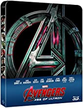 Avengers - Age Of Ultron (3D) (Ltd Steelbook) (Blu-Ray+Blu-Ray 3D)