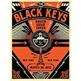 (11x14) Black Keys New York Concert Music Poster