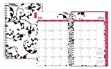"""Blue Sky 2016-2017 Academic Year Weekly & Monthly Planner, Wire-O Binding, 5"""" x 8"""", Analeis (18719)"""