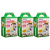 Fujifilm Instax Mini Instant Film (3 Twin Packs, 60 Total Pictures) Value Set