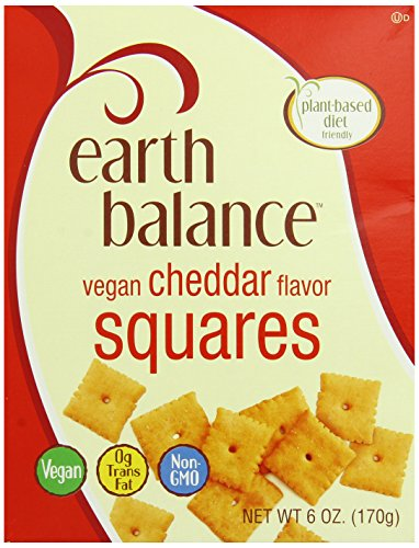 Earth Balance Vegan Cheddar Flavor Squares - 6 oz (Vegan Foods Grocery compare prices)