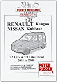 Renault Kangoo II, Petrol Models 1.2, 1.4 and 1.6 Litre Engine, 8 and 16 Valves to 2006 (Pocket Mechanic)