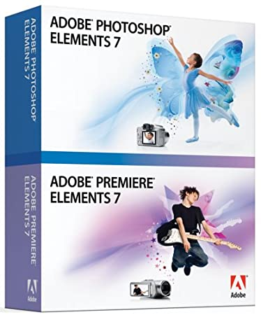 Adobe Photoshop Elements & Premiere Elements 7 [OLD VERSION]