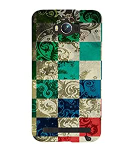GADGET LOOKS PRINTED BACK COVER FOR Asus Zenfone Max ZC550KL MULTICOLOR