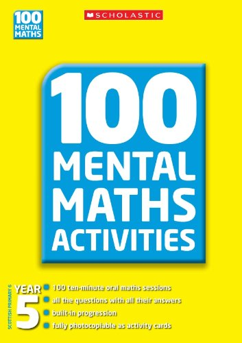 100 Mental Maths Activities Year 5
