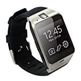 """Tera Aplus Bluetooth 1.54"""" LCD Intelligent Watch Wristband Pedometer Color Black with Steps Tracking Sleep Monitoring Phone Anti-lost Call Message Sync NFC Support SIM and TF Card"""