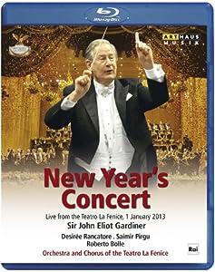 Year's Concert 2013 [Sir John Elliot Gardiner, Desirée Rancatore, Saimir Pirgu, Roberto Bolle] [Blu-ray] by Arthaus