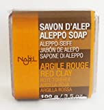 Red Clay Aleppo Soap Bar by Najel 100g