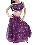 Violet Summer Enfants Belly Dance Tops & Dress Set