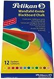 Pelikan 745/12 Craies de couleur pour tableaux noirs Etui de 12 Assorties