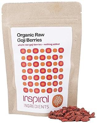 inSpiral Organic Raw Sun-Dried Goji Berries 100 g