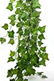 Bird Fiy 78 Ft-12 English Ivy Silk Greenery Artificial Plants Wedding Party Dalloween Decorations