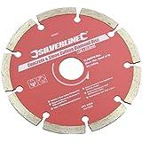 Silverline 633624 Beton und Stein Diamant-Trennscheibe