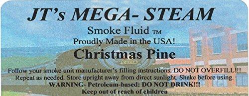 JT'S Mega-Steam Christmas Pine Smoke Fluid (Model Train Smoke compare prices)