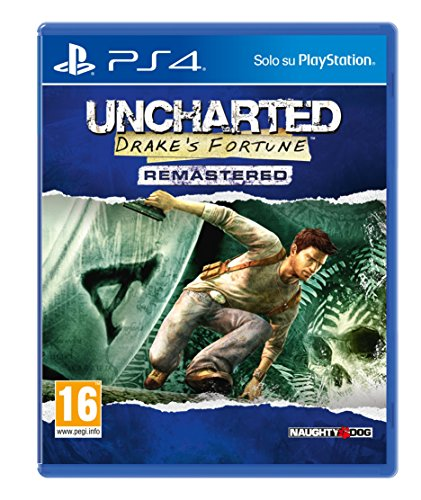 Uncharted: Drake's Fortune - PlayStation 4