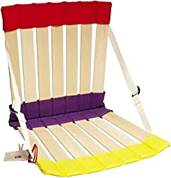 HowdaHug 2 Seat - Adjustable Straps to Fit Taller Thinner Children to 100 pounds - Multiple Colors