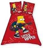 Belltex 429-SIMP-DBO9(D) Bettwäsche The Simpsons Little Ripper 135 x 200 + 80 x 80 cm