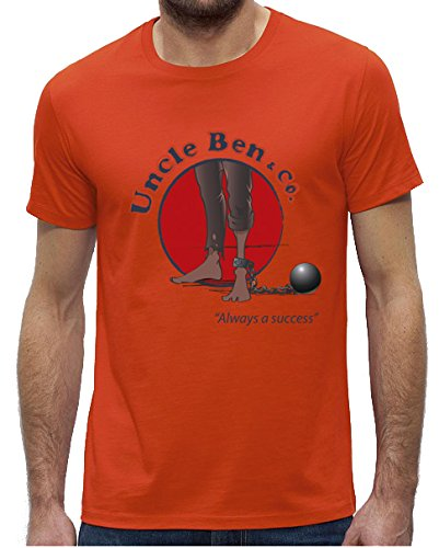 azyleum-t-shirt-orange-imprime-uncle-ben-co-manches-courtes-homme-taille-s-m-l-xl-xxl-large