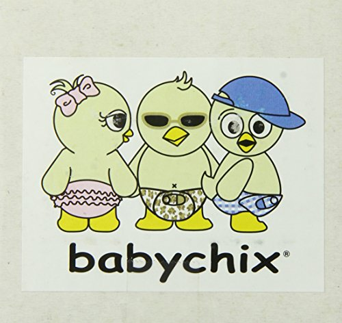 "Babychix 4"" Teeny with Muah Ceramic Keepsake Diaper, White/Blue"