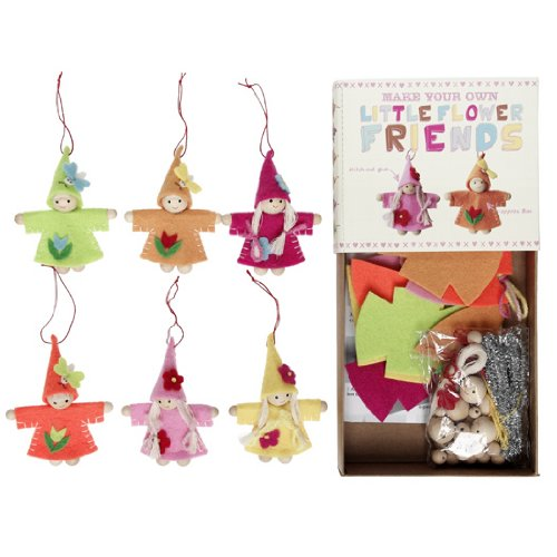 Felt Craft Kit  Flower Friends