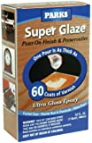 Rust-Oleum Parks Super Glaze, 241352 Ultra Glossy Epoxy Finish and Preservative Kit, Clear 32 Fl Oz