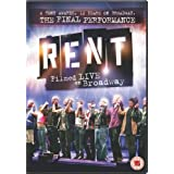 Rent: The Final Performance - Filmed Live On Broadway [DVD] [2009]by Michael John Warren