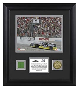 Tony Stewart 2013 Fed Ex 400 Autism Speaks Race Winner Framed Photomint with... by Sports Memorabilia