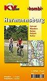 Hermannsburg: 1:12.500 Gemeindeplan mit Freizeitkarte 1:25.000 incl. Radrouten, Wander- und Reitwegen