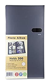 2PO® Durable High Capacity Space Saver Photo Album / Portfolio Holds 300 4 x 6