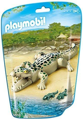 PLAYMOBIL Alligator with Babies Building Kit by PLAYMOBILÃ'®