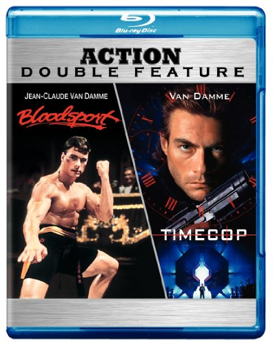 Cover art for  Bloodsport / Timecop (Action Double Feature) [Blu-ray]