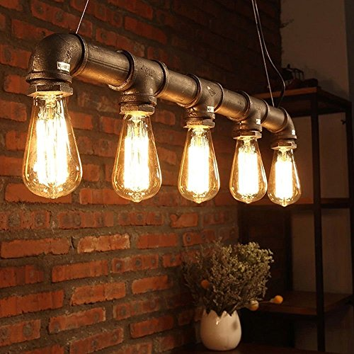 yueweiIndustrie-Loft-hngender-Weinlese-Deckenleuchte-DIY-Dekoration-Lampe-E27-Metal-Pipe