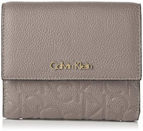 Calvin Klein JeansMISH4 MEDIUM TRIFOLD - Portafogli Donna , Grigio (Grau (FUNGI 094)), 12x14x3 cm (B x H x T)
