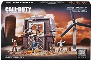 Mega Bloks - Call Of Duty - Ferme TranZit des Zombies