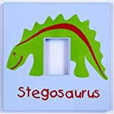 Stegosaurus Dinosaur Light Switch Cover