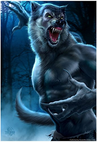 Werewolf Poster by Tom Wood 13 x 19in