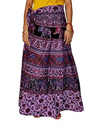 Rangsthali Cotton long Skirt wraparound open waist sarong