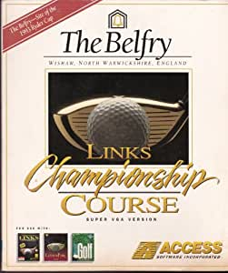 """LINKS CHAMPIONSHIP COURSE SUPER VGA VERSION: THE BELFRY (WISHAW, NORTH WARWICKSHIRE, ENGLAND)(3.5"""" DISKETTE VERSION--NOT CD-ROM VERSION)(MS-DOS VERSION) (1992 ACCESS SOFTWARE)"""