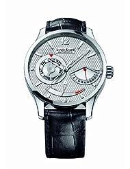 Louis Erard Men's 87221AA01.BDC51 1931 Automatic Black Leather Power Reserve Date XL Watch