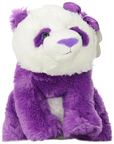 Aurora World Girlz Nation Purple Panda Plush, 11""
