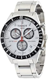 Tissot Men's T0444172103100 T-Sport PRS516 Quartz Silver Chronograph Dial Watch