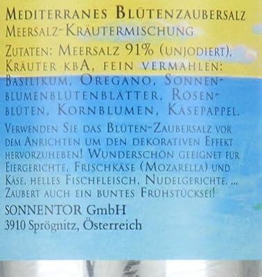 Sonnentor Mediterranes Blütenzaubersalz Streudose, 1er Pack (1 x 90 g) - Bio von Sonnentor bei Gewürze Shop
