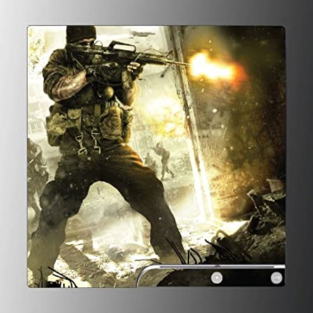 Call of Duty Black Ops game Vinyl Decal Skin Protector Cover 9 Playstation PS3 Slim
