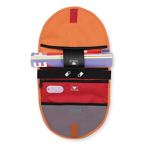 Melissa Doug Trunki Saddle Bag Orange And Red