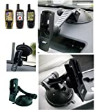 Multisurface Car / Vehicle Dashboard / Window Suction Mount for Garmin GPSMap 62 / 62S / 62SC / 62ST / 62STC